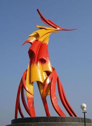 不锈钢雕塑(002)图片