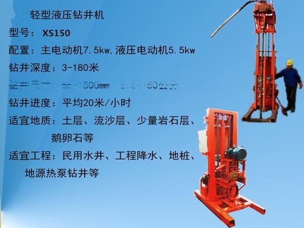 hunanjusheng.com/ xs-150型液压钻井机,工作噪音低.图片