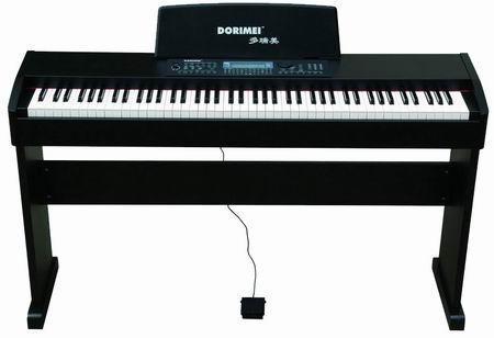 多瑞美电钢琴88键配重键盘drm-8803图片