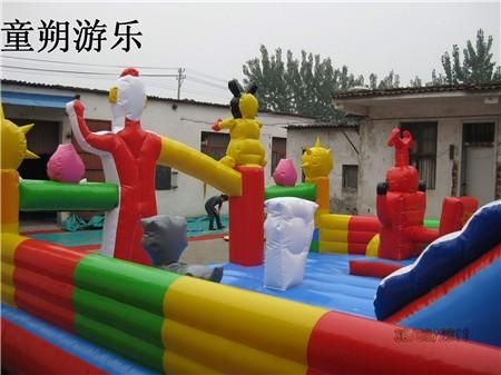 儿童充气滑梯【批发价格