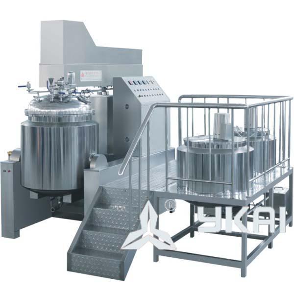 zjr-650真空均质乳化机(液压升降型)