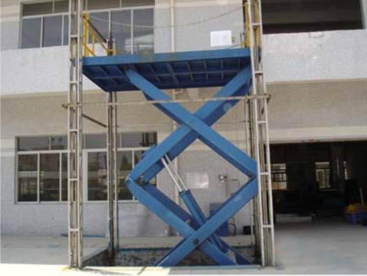 固定式液压升降平台/液压装卸平台图片