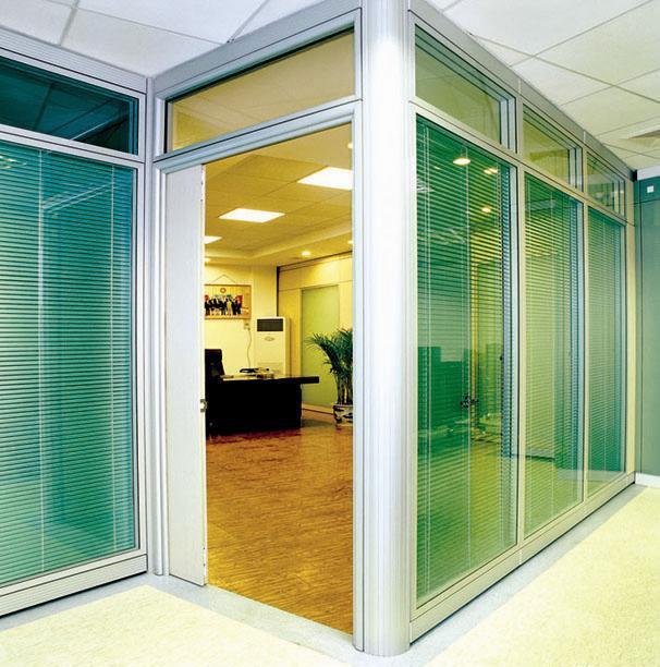 中空百叶玻璃高隔断高隔间 2013 批发价格,厂家