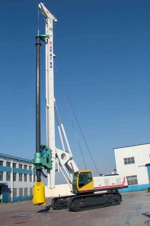 山东鸿达建工集团有限公司专业生产液压旋挖钻机,出口国外三十图片