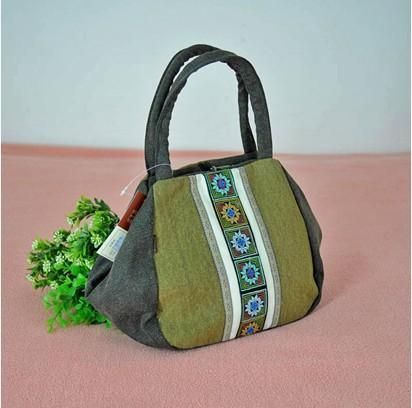 刺绣图案手提包(000588)