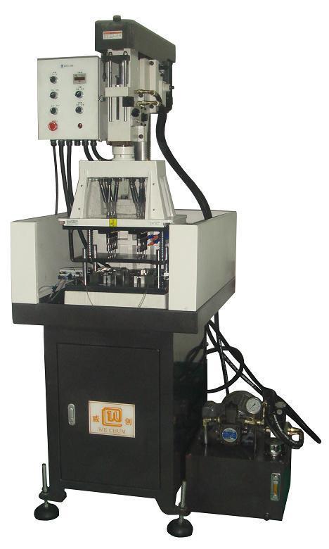 油压立式多轴自动钻孔机(ovmd5-120300)图片