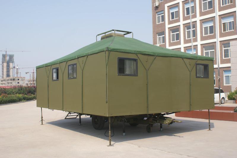 板块折叠式帐篷拖车