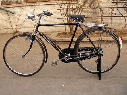 28寸凤凰老式自行车图片