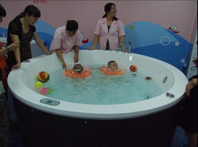 2米圆形亚克力游泳池