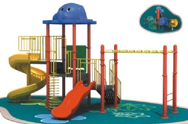 儿童游乐滑梯