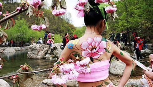 人体彩绘 群芳争艳 中国制造网,郑州迦南墙体彩绘艺术壁画工程