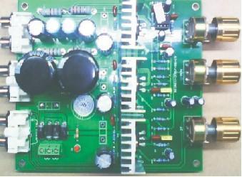 2.1低音炮功放板高清图片