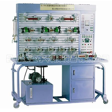 透明液压传动演示实验台图片