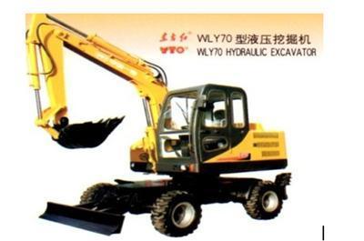 用途: 通用挖掘机 铲斗: 抓铲挖掘机 大小: 小型 行走方式: 轮胎挖掘