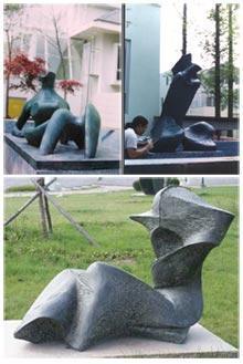 人体艺术刘亦�_人体艺术雕塑