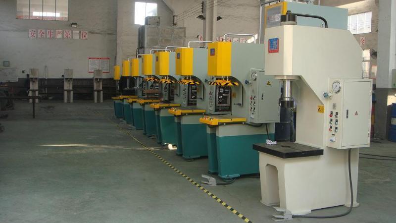 y41-25t单柱液压机