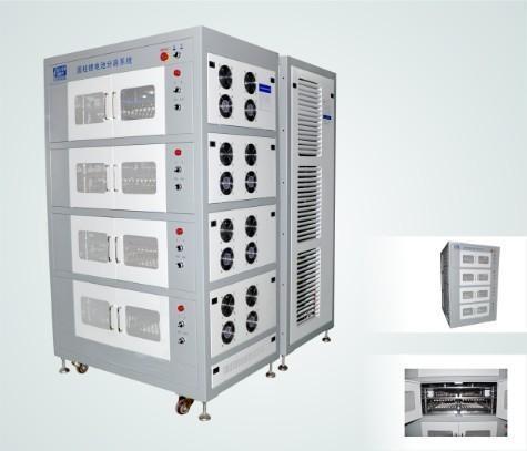 圆柱锂电池针床式分容柜(ht-f768e03)图片