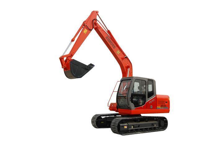 """分享到: """"恒特挖掘机""""参数说明 用途: 通用挖掘机 铲斗: 反铲挖掘机图片"""
