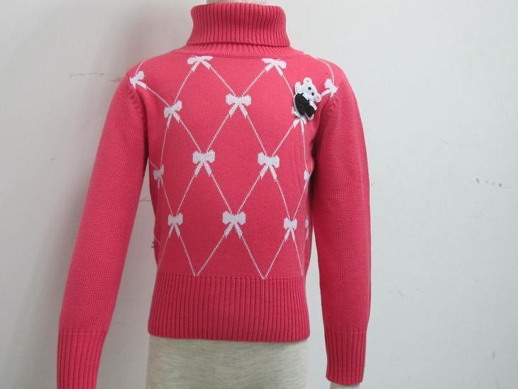 童装针织休闲圆领毛衣