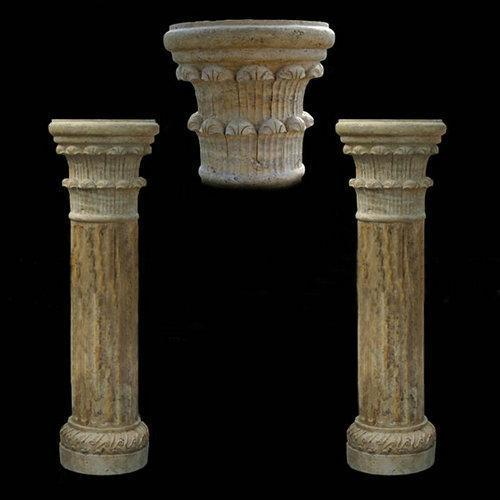 石雕柱子,石材柱子,石柱雕刻图片