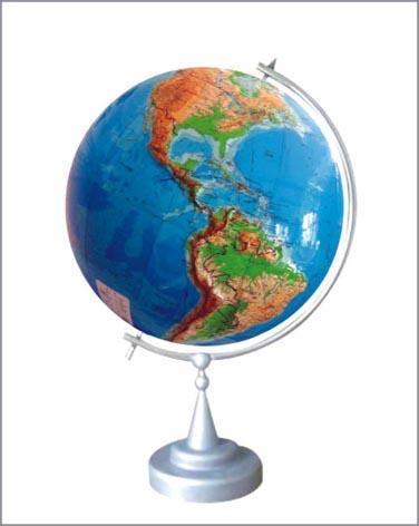 政区地形两用大型立体地球仪(PT-R1500C)