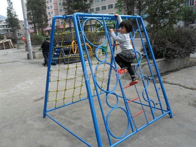幼儿园体育活动器械-爬网