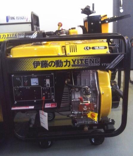 停电应急5千瓦柴油发电机图片,停电应急5千瓦柴油发电机高清图片