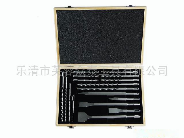 电锤钻头套装17pcs木盒包装