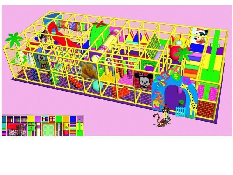 儿童游乐设备 - 淘气堡