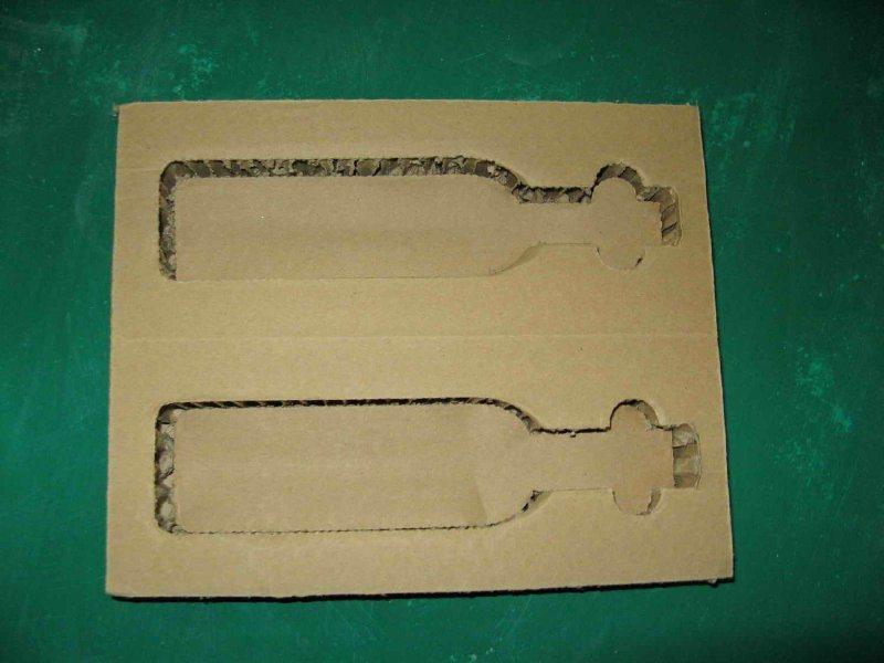 蜂窝纸板结构