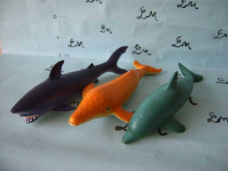 搪胶玩具海洋动物