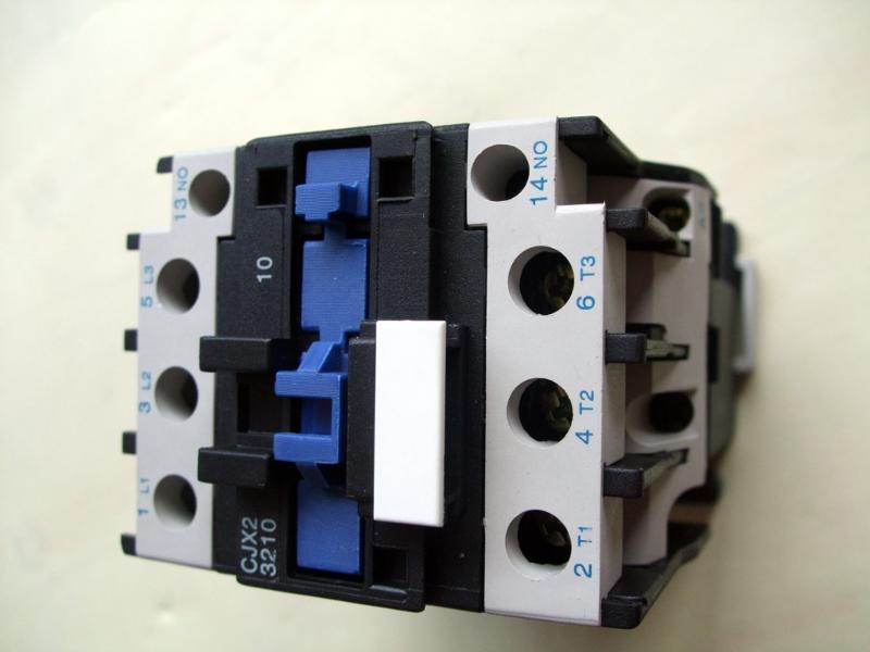 CJX2交流接触器的使用与线的接法
