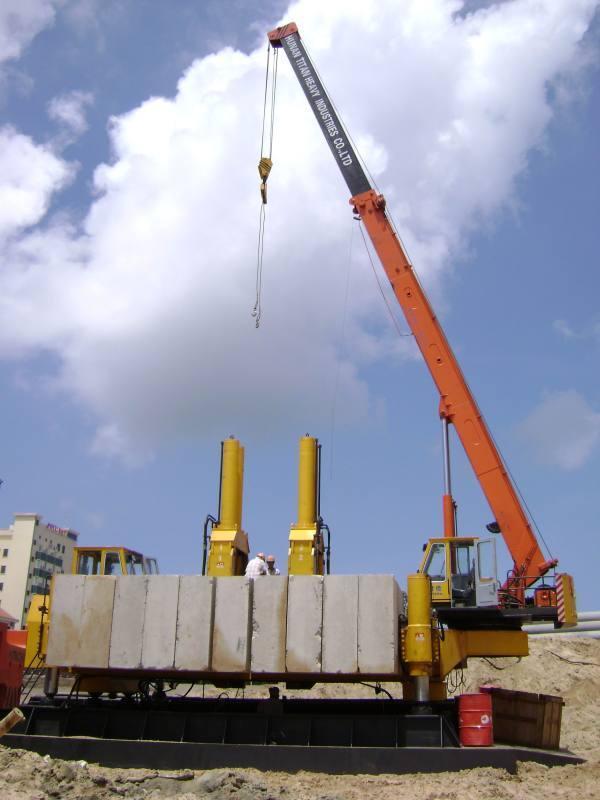 静力压桩机_应利勃海尔搅拌车旋挖钻机液压静力压桩机维