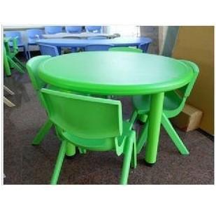 幼儿圆桌子图片