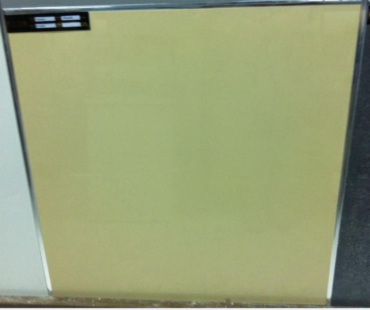 金花米黄抛光砖 瓷质 纯色砖