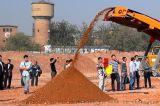 建筑垃圾处理:郑州鼎盛移动式破碎站符合建筑垃圾资源化需求