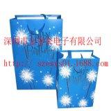 供應精美禮品袋電子發光/發聲音樂袋/音樂禮品袋