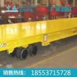 100吨港口物流重型平板牵引拖车