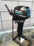 通晟TWISUN品牌 18马力二冲程水冷舷外机 汽油船挂机