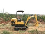 驭工15-9超小型挖掘机 种果树用的小挖机 果园施肥用的最小型挖掘机
