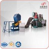 废铝屑压块处理生产线,专业铝屑压块流水线