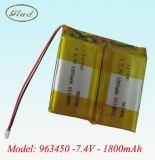 锂聚合物电池1800mAh(103450)