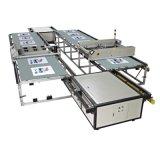 翼展全自动台版印花机,拖鞋印花机,皮革丝网印刷机