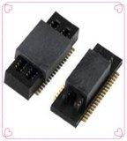 板对板连接器0.5MM双槽板对板连接器