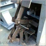 链式刮板输送机  下铺石板刮板式送料机