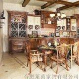 整体橱柜 实木整装 厨房定制 莱茵品牌  纳什维尔 LY1010