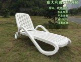海口酒店会所泳池躺椅 JK03A塑料沙滩椅