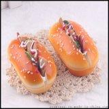 厂家直销 甜甜圈面包模型PU材质蛋糕店模型幼儿早教品摄影影视道具