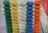 双十一特惠 蓝色PVC涂塑包塑勾花网球场围网锚网