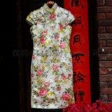 中式棉麻服装旗袍系列/禅服茶服汉服高级定制/品牌服装代工贴牌